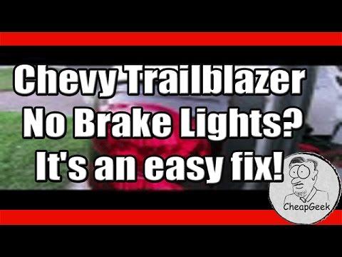 1996 Gmc Sierra Fuse Diagram Chevy Trailblazer No Brake Lights It S An Easy Fix