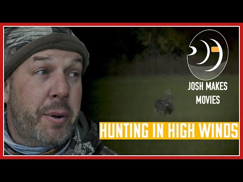 Dealing With Really High Winds Michigan Deer Hunting 2019