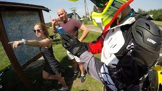 Quad Vlog - Znalezlismy niesamowite miejsce do jazdy w srodku lasu az zabraklo nam paliwa