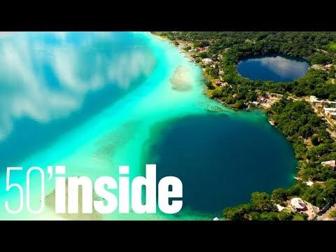 La péninsule du Yucatán, Mexique - 50'Inside