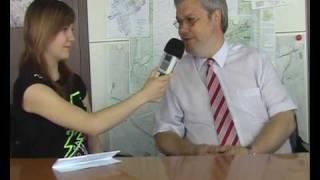 Berthaphon Interview mit dem Bürgermeister von Mörfelden-Walldorf