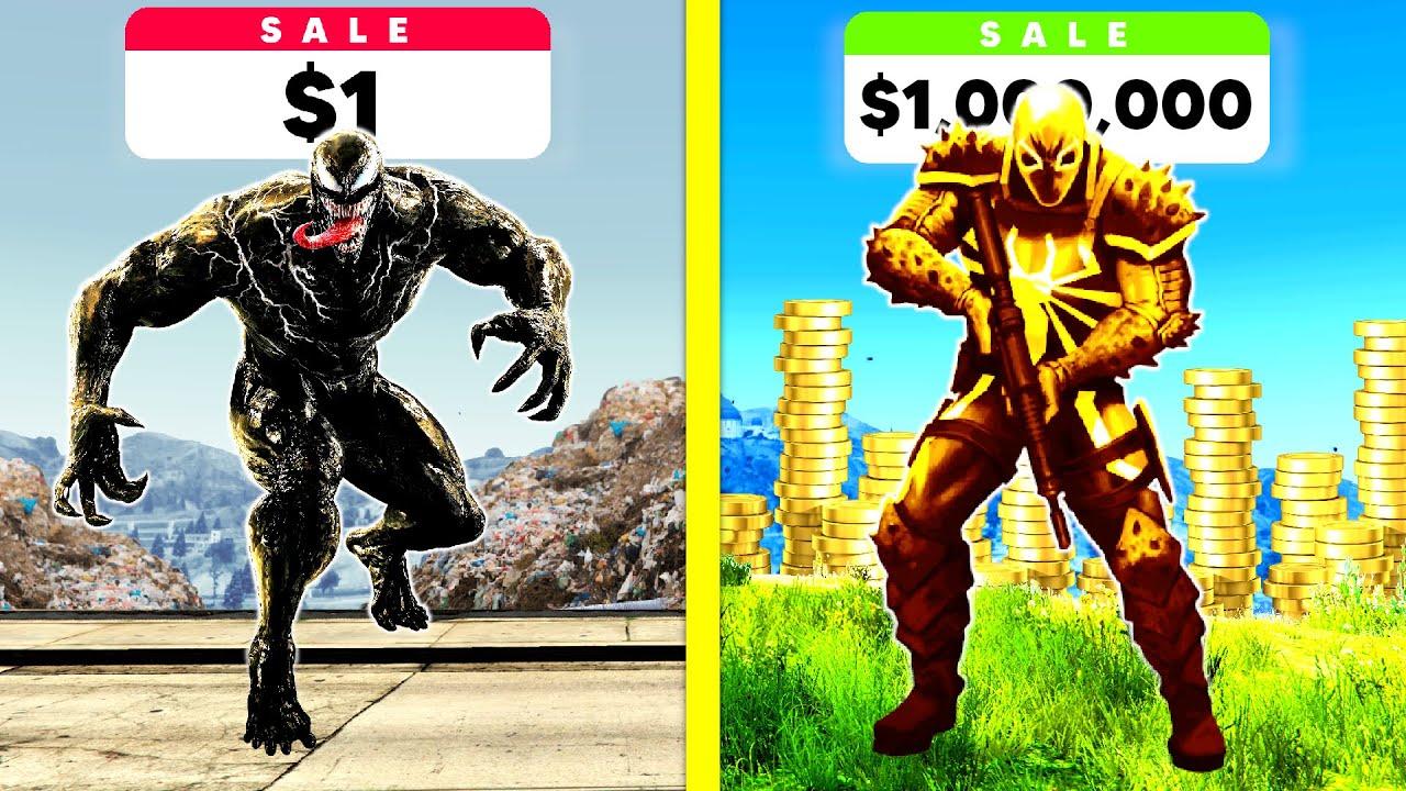 Download $1 VENOM Vs $1,000,000 VENOM In GTA 5!