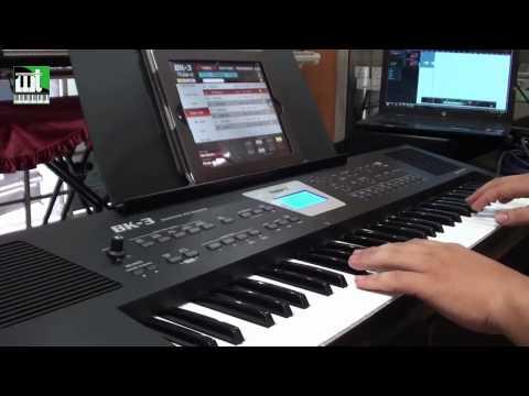 Demo tiếng cho organ Roland BK3