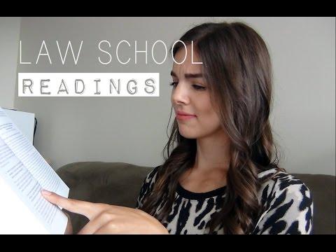 LAW SCHOOL   Readings
