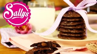 die besten und leckersten Schokoladen-Cookies / fertig in 30 Min.