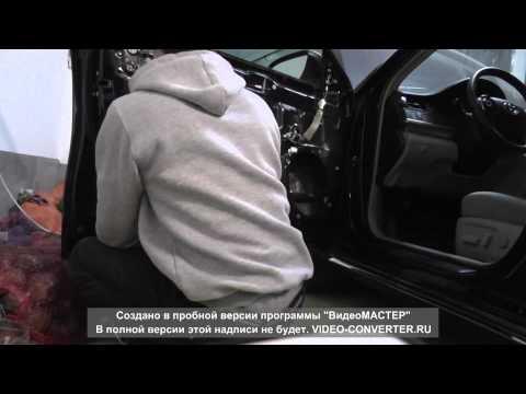 Шумоизоляция двери Toyota Camry 50