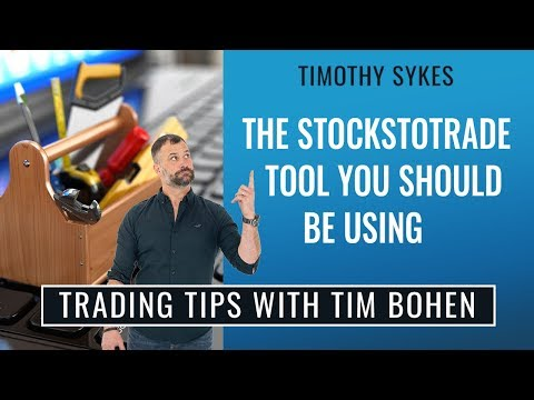 The Stockstotrade Tool You Should Be Using
