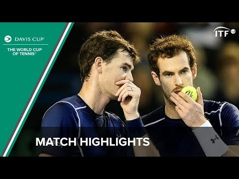 Highlights: Andy Murray/Jamie Murray (GBR) v Juan Martin del Potro/Leonardo Mayer (ARG)