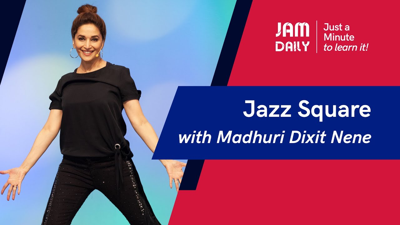 JAM Daily #105 | Just A Minute To Learn 'Jazz Square' | Dance With Madhuri