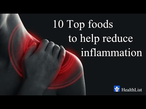 Best Anti-Inflammatory Foods - Top 10 sources