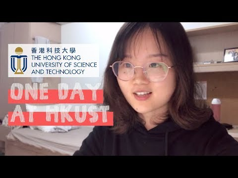 One Day at HKUST Campus as a Minerva Student   Vlog   香港科技大学的一天   UST Freshman Using ALF Spotted!