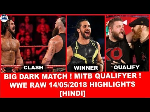 Dark Match(6 ManTag) | WWE Monday Night Raw 14th May 2018 Highlights [Hindi] | Raw 14/05/2018