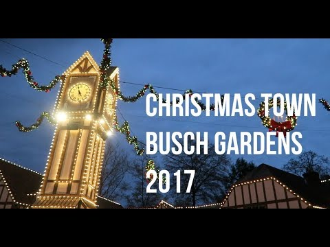 Christmas town at busch gardens colonial williamsburg 2017 youtube for Christmas town busch gardens williamsburg 2017