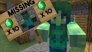 MARK GOES MISSING INSIDE HIS HOUSE WE CAN&#39T FIND MARK OUR FRIENDLY ZOMBIE !! Minecraft ...