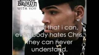 Chris Brown - Changed Man (Lyrics)