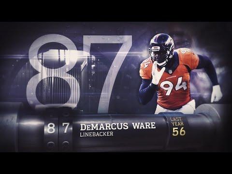 #87 DeMarcus Ware (DE, Broncos) | Top 100 Players of 2015