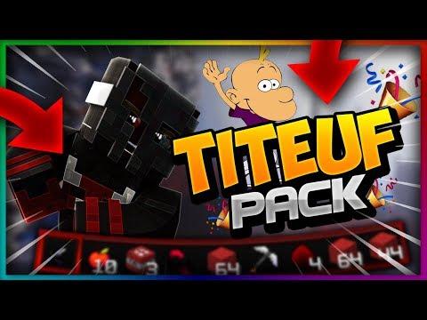 TITEUF'PACK V1 😱(1 PACK DE OUF NOLAG)1.9/1.10/1.11✔