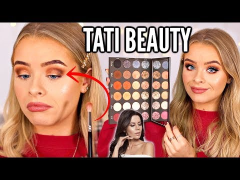 TATI BEAUTY TEXTURED NEUTRALS PALETTE.. FIRST IMPRESSIONS/REVIEW thumbnail