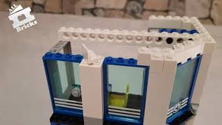 3  LEGO CITY Police Station 60141 Unboxing, Timelapse Build part 3
