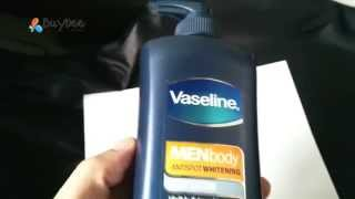 Vaseline Men Body Anti Spot Whitening Menthol Body Lotion 400ml