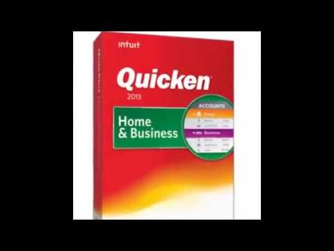 Quicken Home And Business 2013 great Product look at the video and you will see