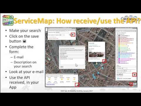 Sii-Mobility APP Kit Development day: 2.ServiceMap Development Tool