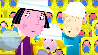 Ben and Holly's Little Kingdom | At the Toy Factory! | Full Episodes | Cartoons for Kids