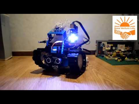 Search and rescue robot for nuclear polluted environment