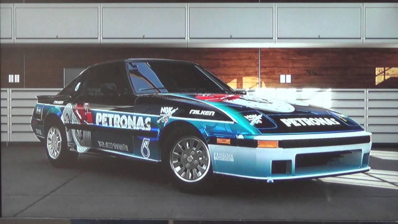mazda rx7 1985 racing. forza 5 mazda rx7 gslsf de 1985 kite savana rx7 racing