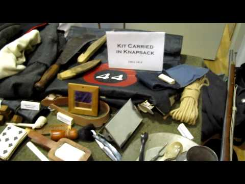 CRHnews - 44th East Essex Regiment Foot kit Chelmsford Museum