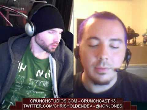 CrunchCast 13 Applying for Jobs, & Environment Art