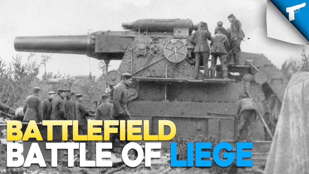Battles of WWI - Battle of Liege | Battlefield - YouTube