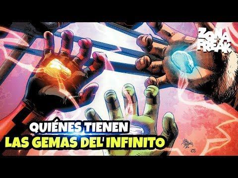 Marvel Comics revela quienes tienen las Gemas del Infinito | Zona Freak