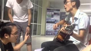 """Demo Nổi lửa lên em part 1 - Tứ ca """"Tuổi 20 hát"""" HAU"""
