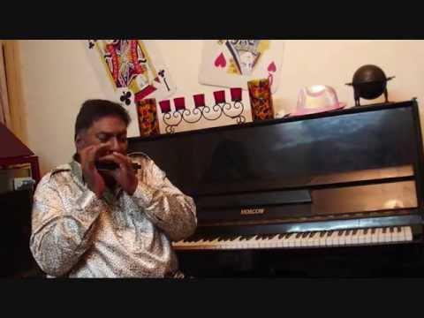 Main Shayar To Nahin Played on Hearing 64 professional Harmonica