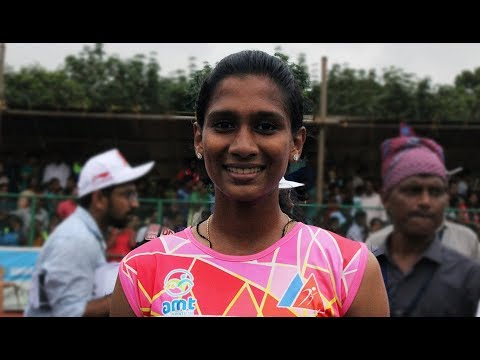 Aparna Roy Won Gold 100 Meter Senior Girls Kerala State School Athletic Meet 2017 Pala