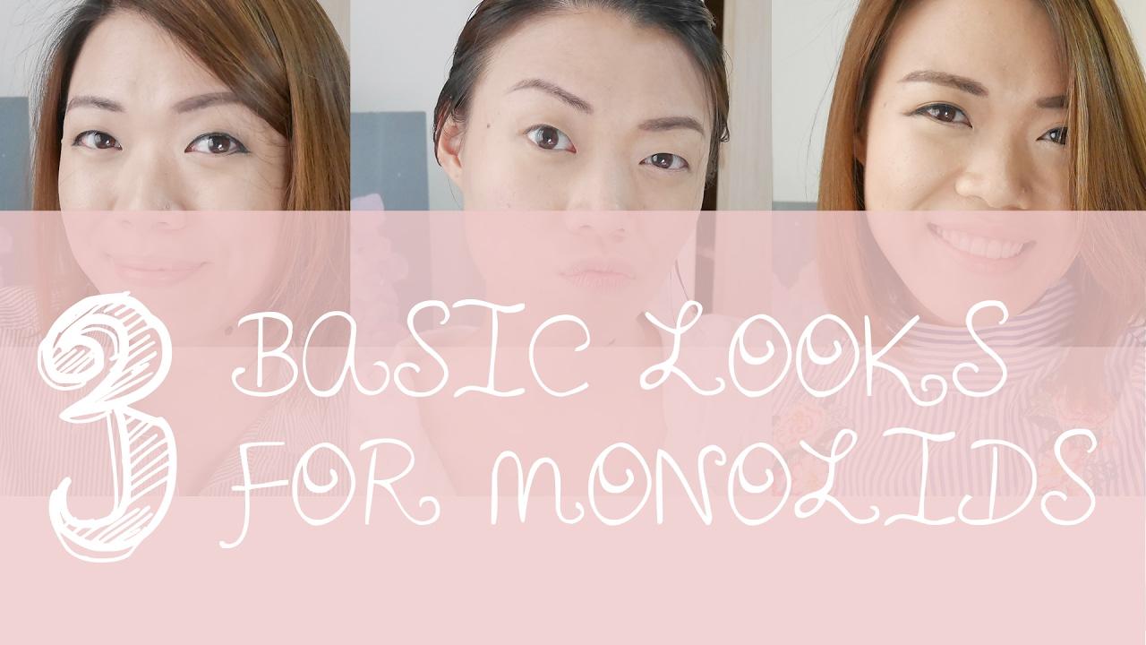 Grwm 3 basic monolid single eyelid makeup looks youtube grwm 3 basic monolid single eyelid makeup looks baditri Gallery
