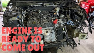 Rebuilding A Wrecked 2017 Ford Police Interceptor Utility - Part 3