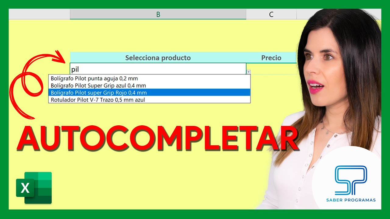 Excel | Crear buscador en listas desplegables de Excel | Sin macros, no VBA. Tutorial en español HD