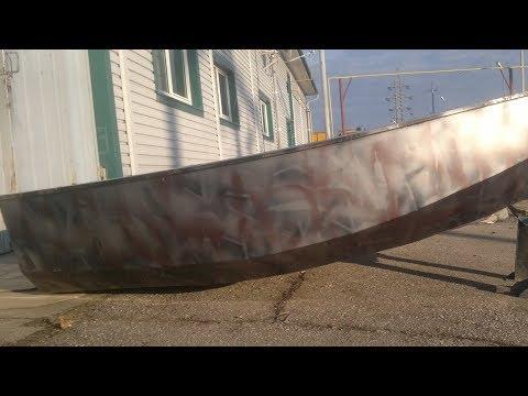 Как сварить лодку из листового металла