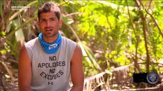 Survivor 2019   Ο Βασίλης δυσκολεύεται να ενταχθεί στην ομάδα   16/02/2019
