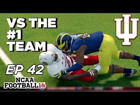 NCAA Football 14 Dynasty | Indiana Hoosiers - Hardest Game!!! - Ep 42