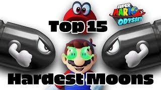 Top 15 Hardest Moons in Super Mario Odyssey