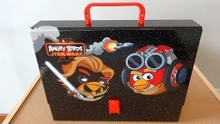 Angry Birds Star Wars II Big School Bag Set Unboxing Toys てる鳥のスターウォーズ