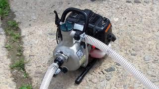Обзор мотопомпы для чистой воды (Clean Water Pump) Koshin SEV-25L