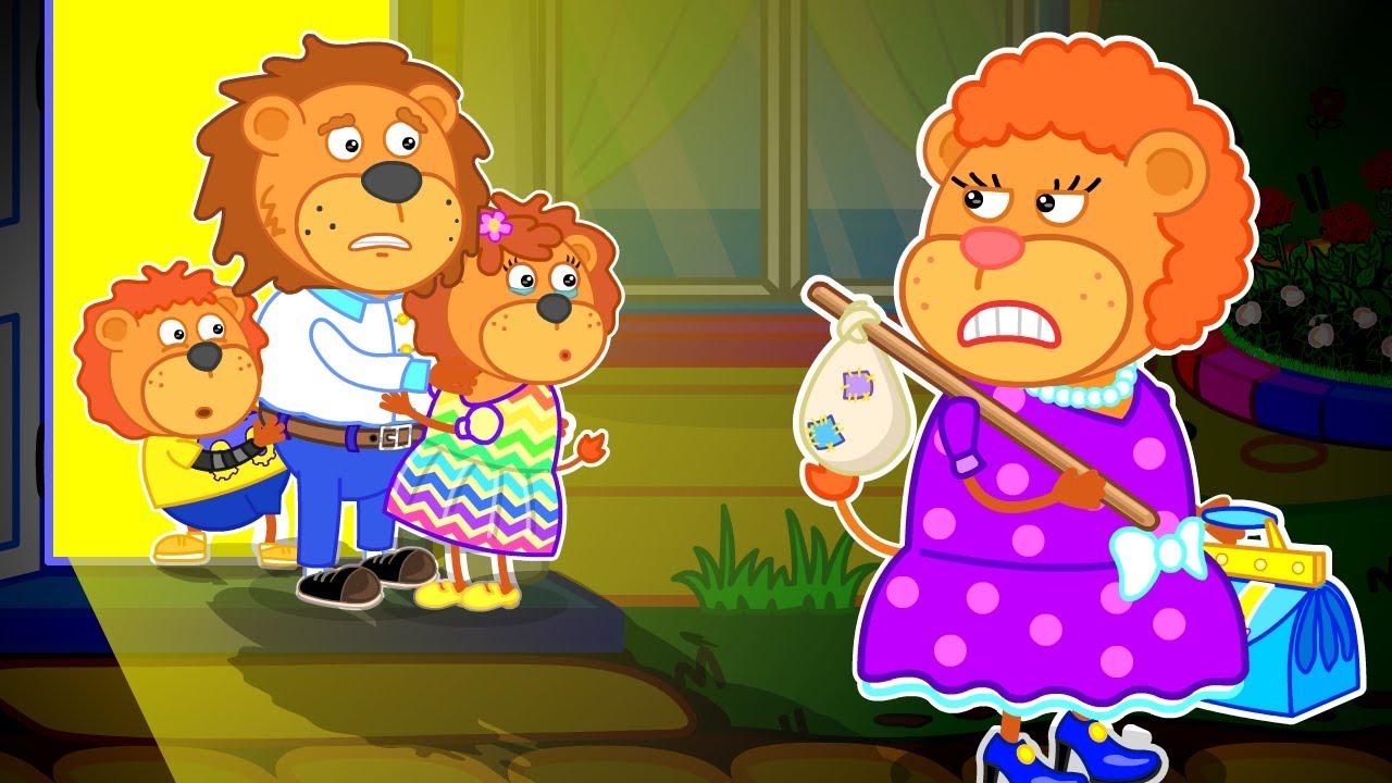 Lion Family на русском - Маша и Леопольд.  Мама уходит - Мультик для детей