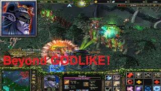 DotA 6.81d Magina, Anti Mage Beyond GODLIKE