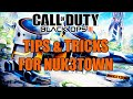 BO3: TIPS & TRICKS FOR NUK3TOWN! STAY ALIVE LONGER IN CHOAS MOSHPIT! (ICR-31 Gameplay)