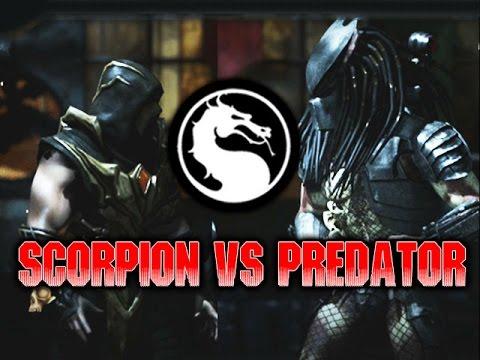 SCORPION VS PREDATOR: WEEK OF! PREDATOR (Part 4) Mortal Kombat X: Online Matches