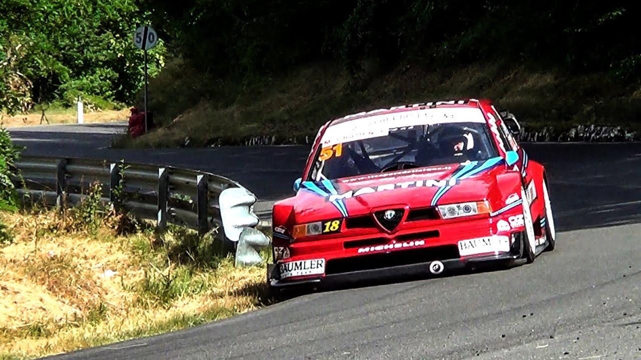 Marco Gramenzi // Alfa Romeo 155 V6 Ti // Lo Spino 2015 - YouTube